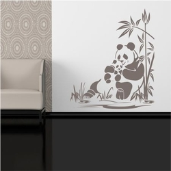 Szablon malarski panda 2