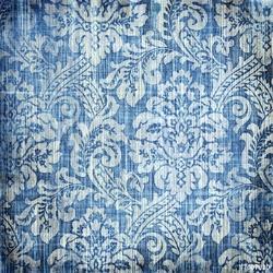 Tapeta ścienna vintage denim tekstury z klasycznymi wzorami