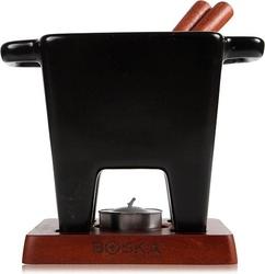 Zestaw do fondue tapas czarny mały