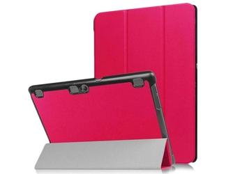 Etui smart cover do lenovo tab 10 x103 tab2 a10-3070 tab3 10 plus x70l różowe - różowy