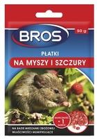 Bros, płatki na myszy i szczury, 50g