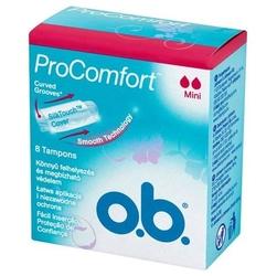 O.b. mini pro comfort, tampon 8 sztuk