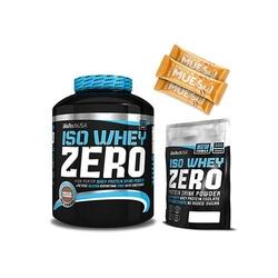Biotech usa iso whey zero - 2270g + iso whey zero - 500g + 3x protein muesli bar - 30g
