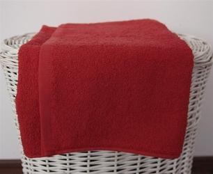 Basic - czerwień rozmiar: 50x100 cm 50 x 100
