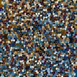 Board z aluminiowym obramowaniem abstrakcyjne tło z mozaiką w różnych kolorach