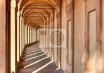 Fototapeta portico di san luca, bologna