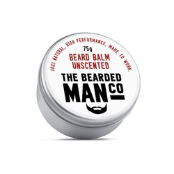 Bearded man co - balsam do brody bezzapachowy - unscented 75g