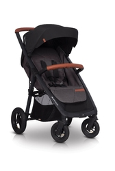 Easygo quantum air anthracite wózek do 22 kg na pompowanych kołach + torba dla mamy gratis