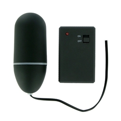 Sexshop - jajeczko zdalnie sterowane - remote control vibrating egg black - online