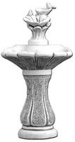 Vb 3-poziomowa, elegancka fontanna ogrodowa pojnik ozdoba dekoracja betonowa