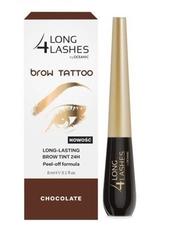 Long 4 lashes brow tattoo preparat do permanentnego makijażu brwi chocolate 8ml