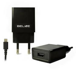 Beline Ładowarka sieciowa 1xUSB + lightning 1A czarna iPhone 5678X