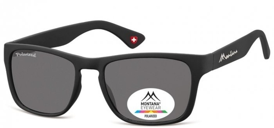 Okulary nerd montana mp39 czarne polaryzacyjne