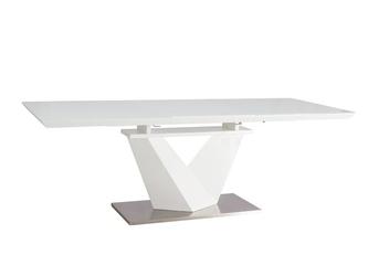 Stół alkas iii 160-220x90 cm biały lakier