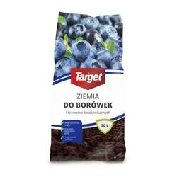 Ziemia do borówek i roślin kwaśnolubnych – 48x50 l target