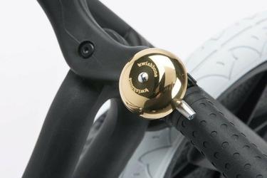 Dzwonek do roweru wishbone - złoty