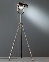 Lampa podłogowa na trzech nogach z reflektorem no.5