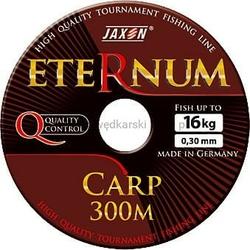Żyłka karpiowa JAXON ETERNUM Carp ciemnobrązowa 0,25mm 11kg 600m