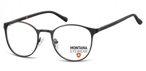 Czarne okrągłe oprawki optyczne pod korekcję mm607