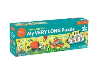 ŚRODKI TRANSPORTU tekturowe puzzle 30 el.
