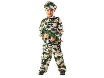 Kostium żołnierz - xs - 98104 cm
