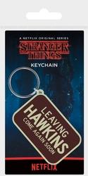 Stranger things leaving hawkins - brelok
