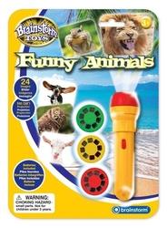 Latarka - projektor funny animals śmieszne zwierzęta