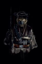 Gwiezdne Wojny Leia w przebraniu Boushh  - plakat premium Wymiar do wyboru: 70x100 cm