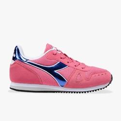 Sneakersy dziewczęce diadora simple run gs girl - różowy