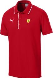 Koszulka polo puma ferrari czerwona