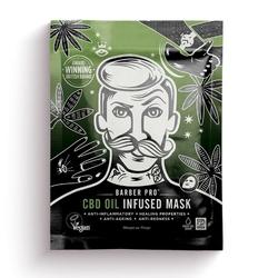 Barber pro cbd oil infused mask - odżywcza maska z olejem konopnym cbd