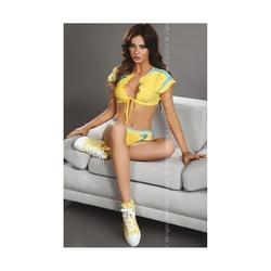 Komplet seksownej cheerleaderki livia corsetti