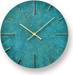 Zegar ścienny quaint rdzawozielony