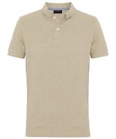 Męska koszulka polo profuomo w beżowy melanż 43