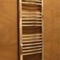 Grzejnik łazienkowy york - wykończenie zaokrąglone, 400x1600, chromowany