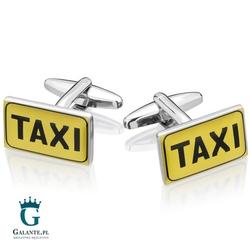 Spinki do mankietów x2 taxi