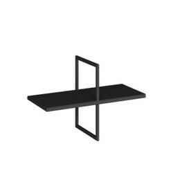 Loft decora :: półka ścienna puzi czarna szer. 60 cm