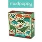 Puzzle jumbo mudpuppy - dinozaury 25 dużych elem.