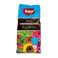 Ziemia uniwersalna – bio + humus – 20 l target