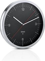 Zegar ścienny sterowany radiowo crono czarny