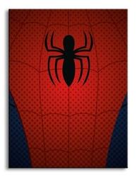 Ultimate spider-man spider-man torso - obraz na płótnie