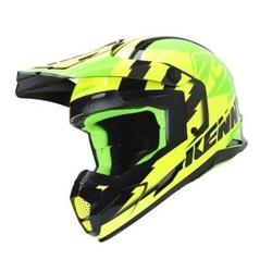 Kenny kask off-road track greenneonyellow 2019