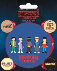 Stranger things arcade - naklejki