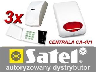 Alarm satel ca-4 led 3xbingo, syg. zew. spl-5010r - szybka dostawa lub możliwość odbioru w 39 miastach