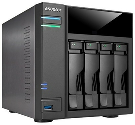 Sieciowy serwer plików nas asustor as6104t - szybka dostawa lub możliwość odbioru w 39 miastach