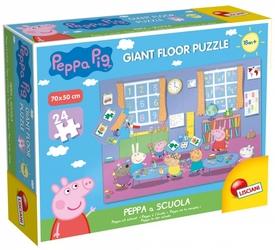 Puzzle Gigant Świnka Peppa