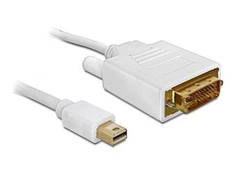 Delock kabel displayport minim-dvi-im24+1 1m