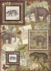 Papier klasyczny do decoupage Stamperia 50x70 cm - 379