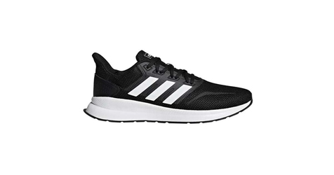 Buty adidas runflacon f36199 core black 44 23 czarny