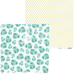 Papier do scrapbookingu Summertime 30,5x30,5 cm 02 - 02  Produkt Polski